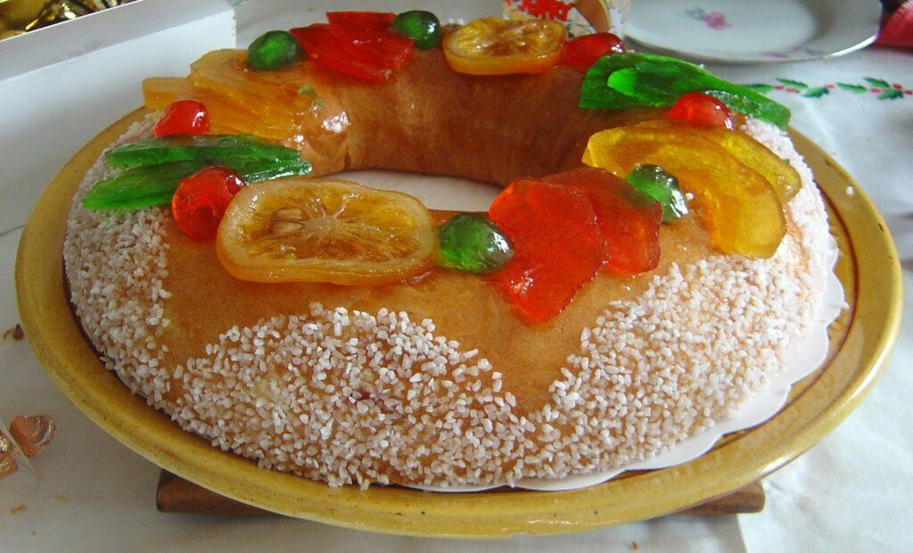 El Roscón de Reyes es uno de las tradiciones navideñas en París