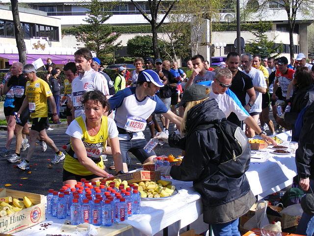 La organización del Maratón de París 2010