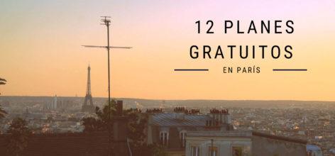 Planes totalmente gratis en París