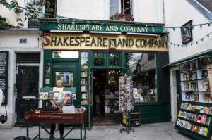 La librería Shakespeare and Company aparece en varias películas rodadas en París