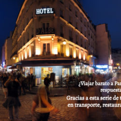Viajar barato a Paris es posible