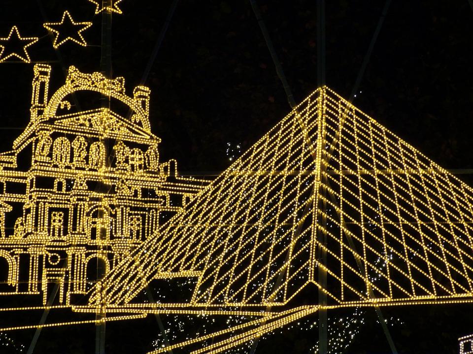 París brillante como tradición navideña
